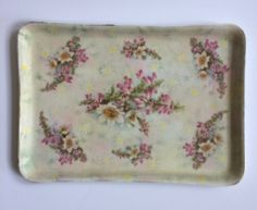 Royal Bayreuth Bavaria Porcelain Dresser Tray  by ShopTheHyphenate
