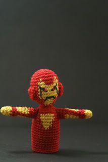 CrochetBot 3000: Iron Man