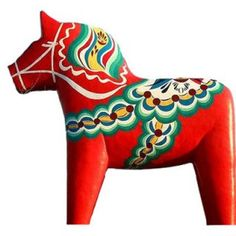 A very well known symbol for Sweden and one of the most popular souvenirs is the Dala Horse (or Dalecarlian Horse).