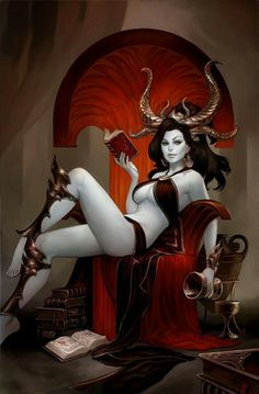 Angels and Demons-Succubus