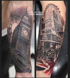 Tatuaje Big Ben - Miguel Bohigues - Vtattoo
