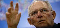 Finanzminister Schäuble: Sieht keinen großen Rückhalt für den Kurs Merkels