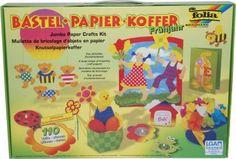 RZOnlinehandel - Bastel-Papier-Koffer Frühjahr 110 Teile