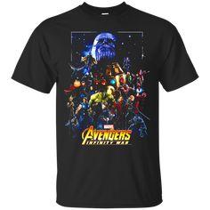Avengers Infinity Wars Team T shirt hoodie sweater