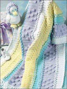 Lace-up cobertor do bebê e Chick
