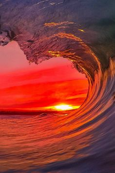 GoPro sunset Photo: Santa Cruz Waves.  Thanks for visiting my Boards guys! (J Train)