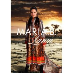 The exclusive Maria B Lawn 2012