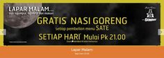 Gratis Nasi Goreng di Sate Khas Senayan