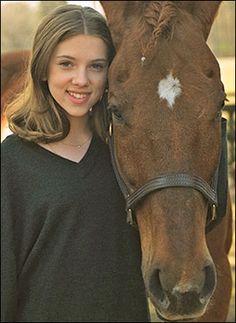 "Scarlett Johansson then In ""The Horse Whisperer"", 1998 Ghost World, Scarlett Johansson, I Movie, Movie Stars, The Nanny Diaries, The Horse Whisperer, Bon Film, Black Widow Natasha, Romanogers"