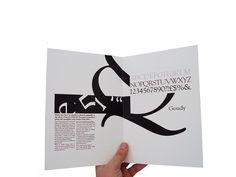 TypE.  Experimental typography book.