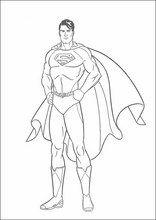 Malebog. Tegninger Superman17