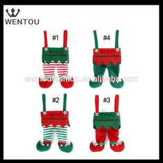 Wholesale Embroidered Elf stocking