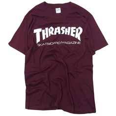 New thrasher T Shirt Men Skateboards tee Short Sleeve skate Tshirts Tops  Hip Hop T shirt homme Man Magazine trasher T shirts     This is an  AliExpress ... 239e9987e888
