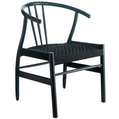 Klassisk stol som passar matplatsen