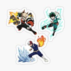 Phone Stickers, Anime Stickers, Journal Stickers, Cute Stickers, Anime Chibi, Kawaii Anime, My Hero Academia, Sticker Transparent, Arte Do Harry Potter