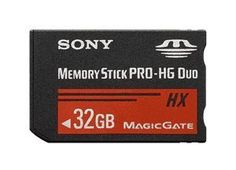 Sony Memory Stick Pro-HG Duo 32Gb (MS-HX32A) by Sony. $79.48. Sony MSHX32A Memory Stick PRO-HG Duo Flash Card  Featuring 32GB of memory, the compact Sony MSHX32A Memory Stick PRO-HG Duo Flash Card is the perfect solution for storing and transferring high resolution video and still photos recorded on compatible Handycam camcorders and Cyber-shot digital cameras. Designed for high speed and stellar storage capacity, this Sony MSHX32A Memory Stick PRO-HG Duo Flash Car...