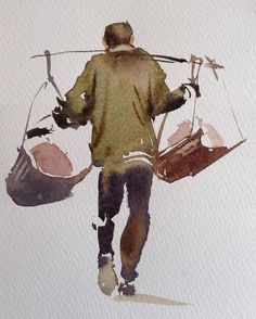 Watercolor by @sterkhovart ! . . . . . . . Via: @watercolor_arte