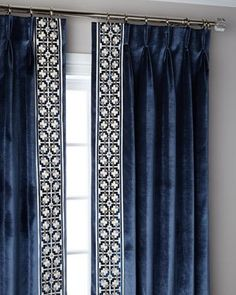 Misti Thomas Modern Luxuries Navy Structure Pinch Pleat Blackout Curtain Panel, 108 and Matching Items Pinch Pleat Curtains, Luxury Curtains, Striped Curtains, Pleated Curtains, Home Curtains, Rod Pocket Curtains, Linen Curtains, Blackout Curtains, Blue Drapes