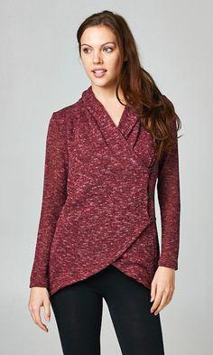Sasha Sweater in Cranberry