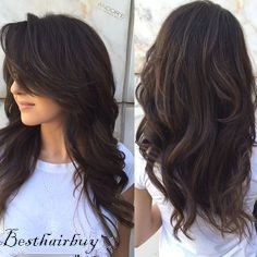 Chocolate Brown Hair. At first I bought it as straight hair, then I use the iron to curl it, now I can get the hair which I want! The hair comes from #Besthaibuy