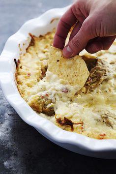 Feta Artichoke Dip | Creme de la Crumb