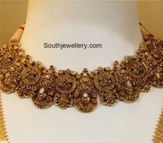 Gold Jewelry Design In India Antique Jewellery Designs, Indian Jewellery Design, Jewelry Design, Latest Jewellery, Indian Wedding Jewelry, Bridal Jewelry, Indian Jewelry Sets, India Jewelry, Gold Jewelry Simple