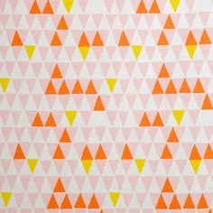 Spira Jaffa Pink Swedish Fabric- is bunting still cool??