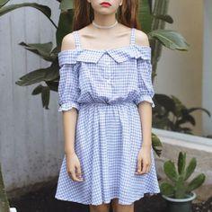 Off Shoulder Mini Sundress