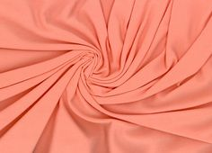 Harts Fabric Bamboo Knit Peach