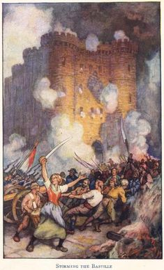 Storming the Bastille, July 14, 1789