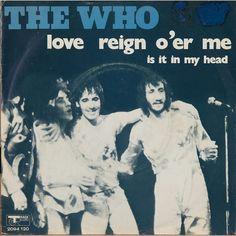 love reign o'er me.