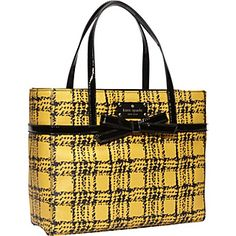kate spade new york Belleville Plaid Quinn Tote