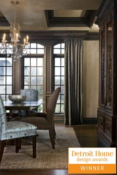 Love this dining look from Cheryl Nestro, Tutto Interiors