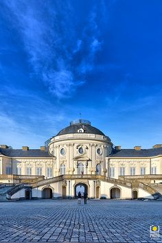 Stuttgart Schloss Solitude. One of the several castles in Stuttgart.Germany