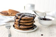 Fluffy Mocha Pancake