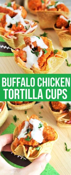 Buffalo Chicken Tort