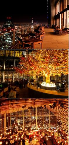 View from Sushi Samba in London. Click on the image to discover London's top 10 restaurants with a view at TheCultureTrip.com!. (image via crazycowevents.co.uk)