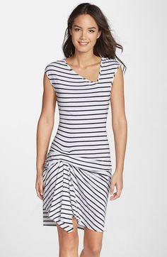 Tart 'Reiko' Stripe Jersey T-Shirt Dress available at #Nordstrom
