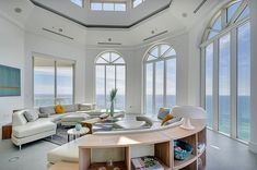 penthouse florida design 3 Staggering Florida Penthouse With Complex Design Features