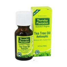 Description: Thursday Plantation Tea Tree Oil is a powerful medicine which is relatively gentle to the skin. It penetrates and heals while being kind to healthy tissue. Clinical trials have proven its value in treating sinusitis, sore throat, tinea, Candi