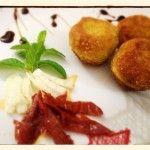 Polpettine di pesce all' italiana