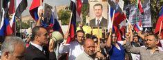 Die russische Botschaft in Damaskus ist von zwei Raketen getroffen worden. Dabei…