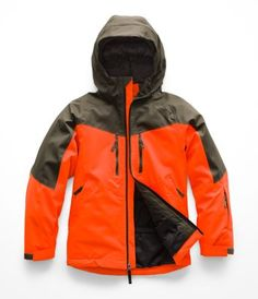 ced0f0a929 Boys' Chakal Insulated Jacket North Face Jacket, Hooded Jacket, Vest Jacket,  The