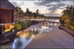 Mauritius, Le Touessrok by night, picture by Quality Pixels