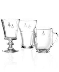 La Rochère Glassware, Napoleonic Bee Collection
