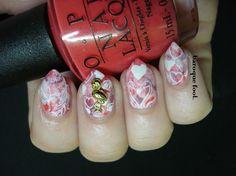 Flamingos in love valentines day nails Manicure, Nails, Love Valentines, The Fool, Nail Art, How To Make, Nail Bar, Ongles, Nail Manicure