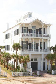 Beach Cottage, Galveston, Texas,  Michael G. Imber, Architects