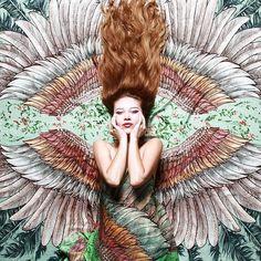 Ornamental Scarves Embody the Freedom of Flight - My Modern Met