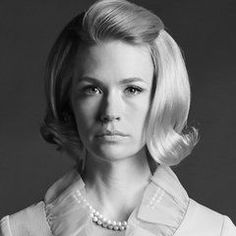 The latest news on Mad Men is on POPSUGAR Entertainment. On POPSUGAR Entertainment you will find everything you need on movies, music and Mad Men. Party Hairstyles, Vintage Hairstyles, Wedding Hairstyles, Mad Men Hairstyles, 1950s Hairstyles, Hairdos, Mad Men Party, Don Draper, Betty Draper
