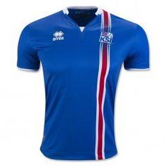 Iceland 2016 Camiseta de la 1ª equipación 9a0ee50171249